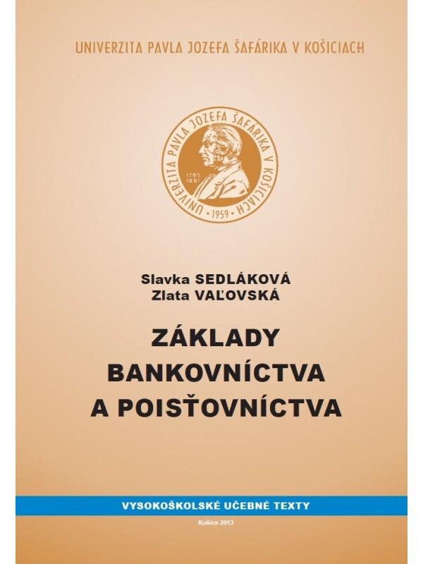 Základy bankovníctva a poisťovníctva