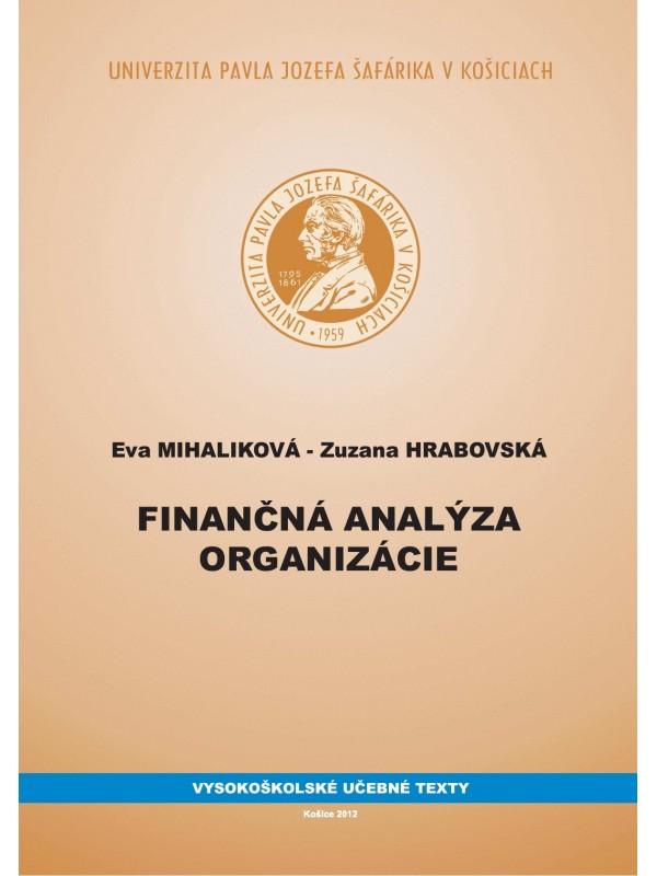 Finančná analýza organizácie