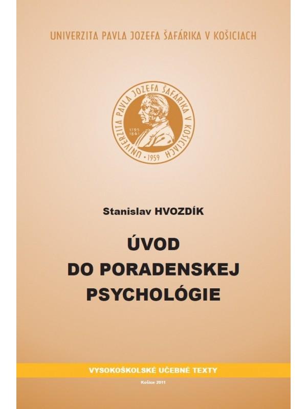 Úvod do poradenskej psychológie