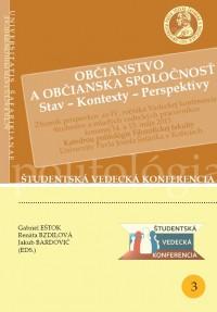 Občianstvo a občianska spoločnosť (Stav - Kontexty - Perspektívy)