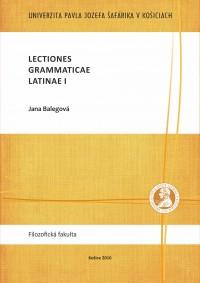 Lectiones grammaticae Latinae I