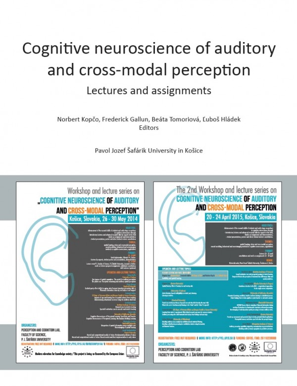 Cognitive neuroscience of auditory and cross-modal perception - Lectures and assignments