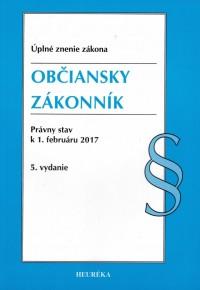 Občiansky zákonník. Úzz, 5. vyd., 2017